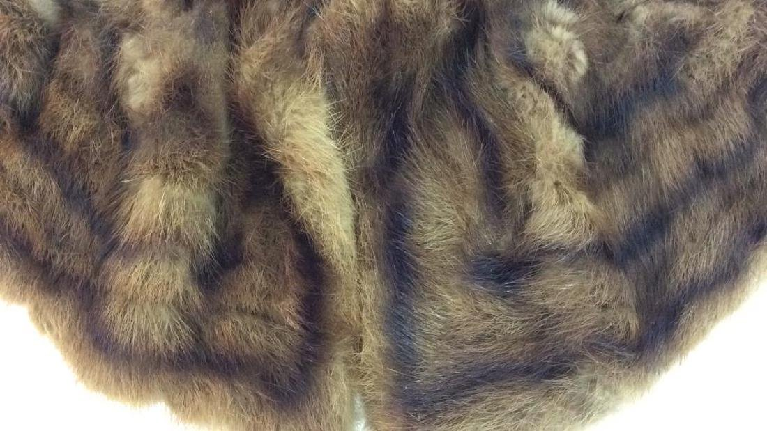 Vintage Fur Stone Martin and Fur Collar - 4