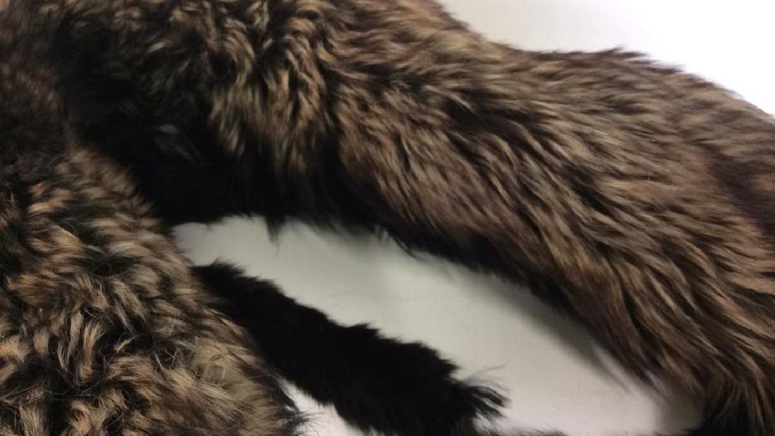 Vintage Fur Stone Martin and Fur Collar - 7
