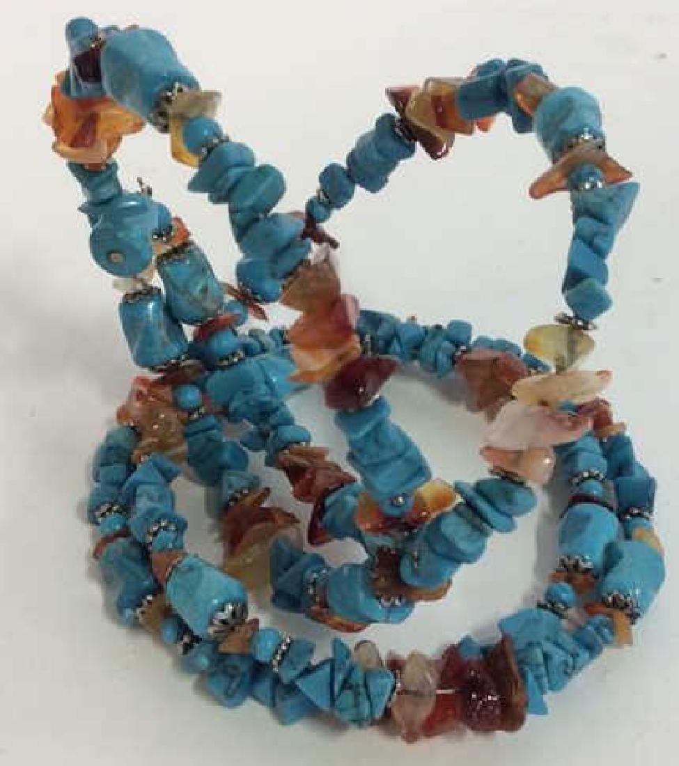 Vintage Turquoise Stone Necklace - 3