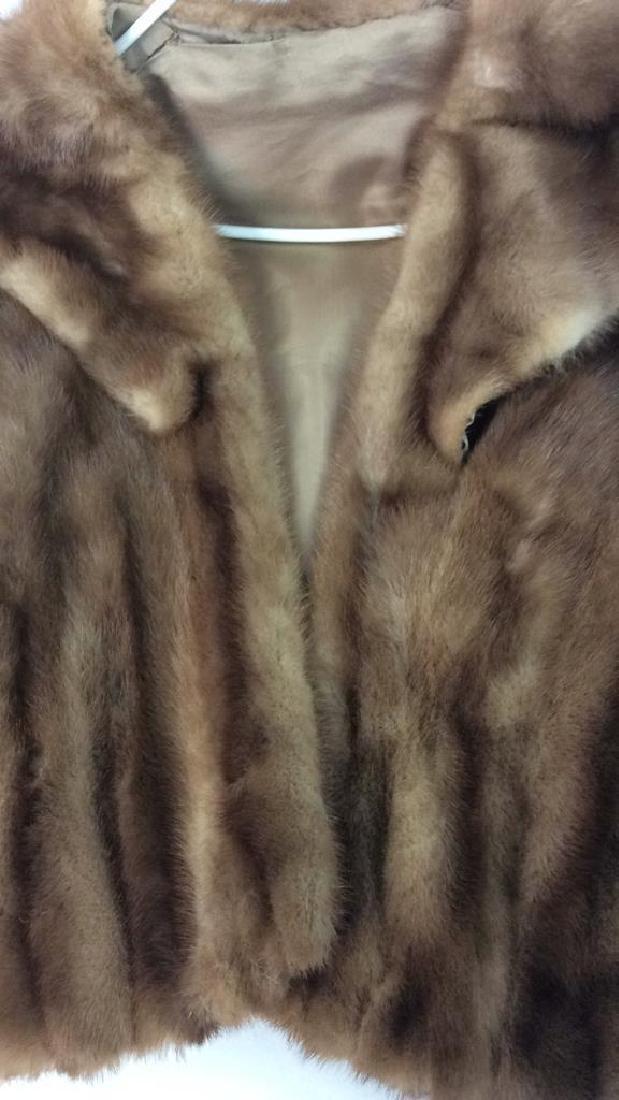 Lunaraine Mink Stole Cape Wrap - 4