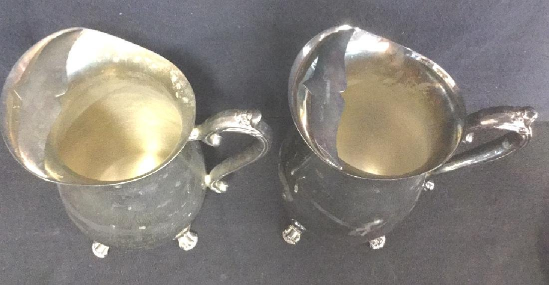 Lot 7 Mix Silver Plate Tabletop Servers - 9