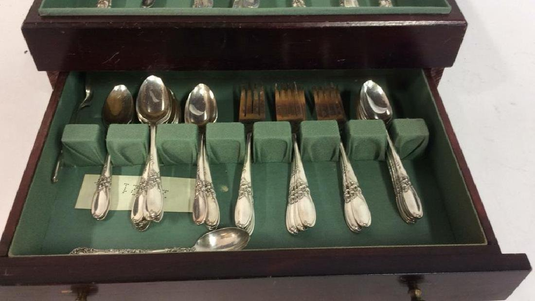 Boxed Set Oneida Community Silver Plate Service - 3