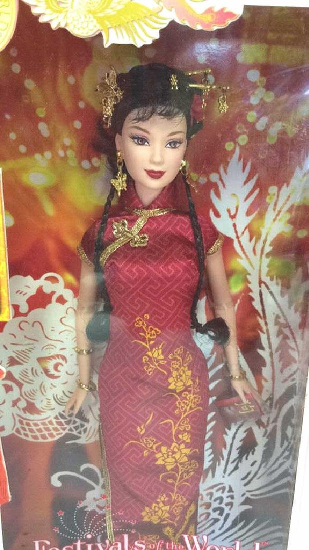 Lot 5 Collectible Dolls of the World Barbies - 3