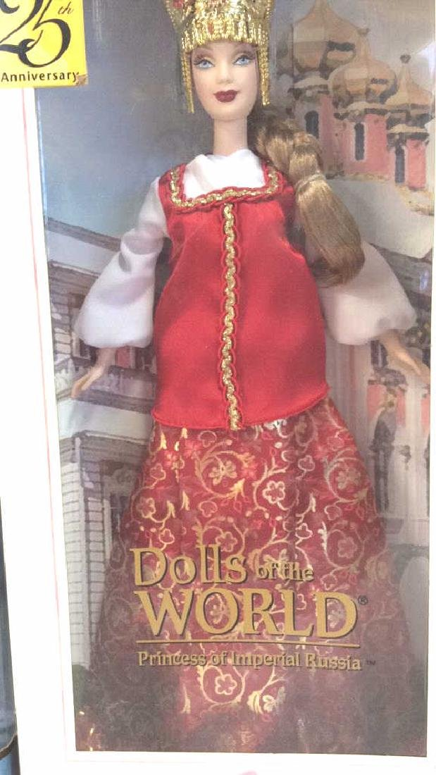 Lot 5 Collectible Dolls of the World Barbies - 6