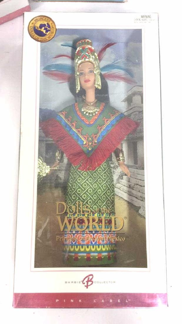 Lot 5 Collectible Dolls of the World Barbies - 8