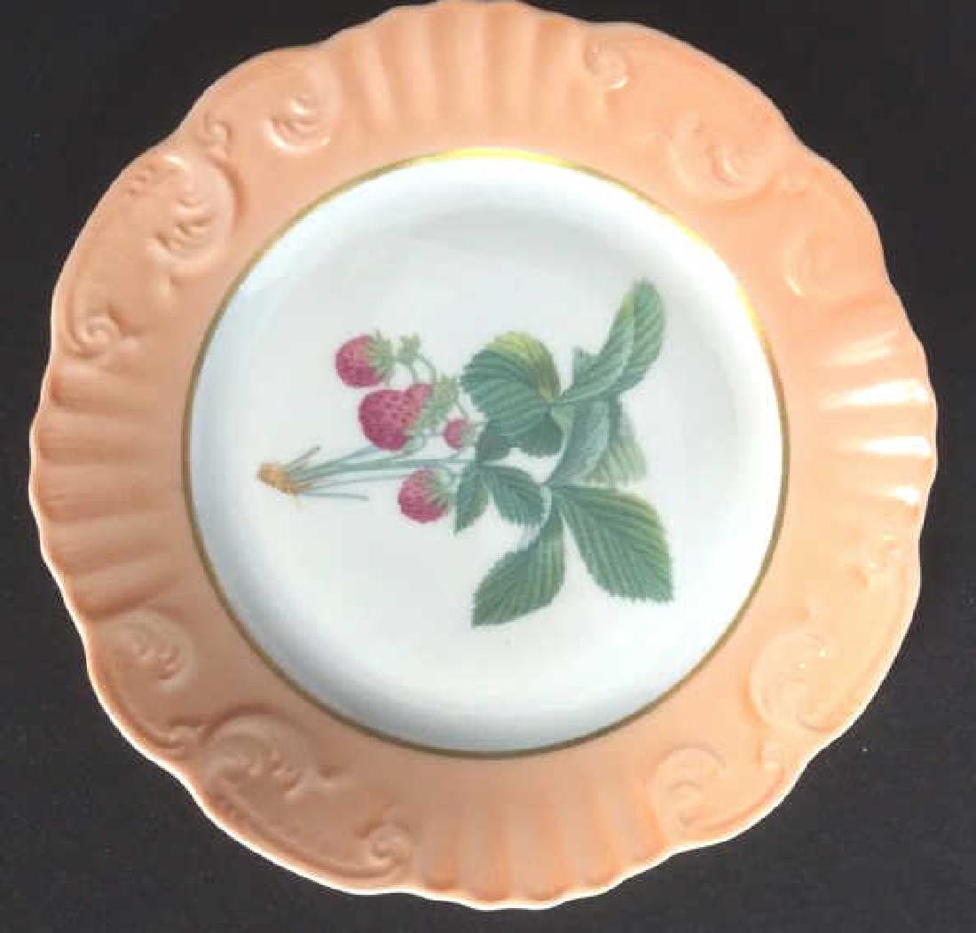 Lot 5 Mottahedeh Ceramic Porcelain Desert Plates - 2