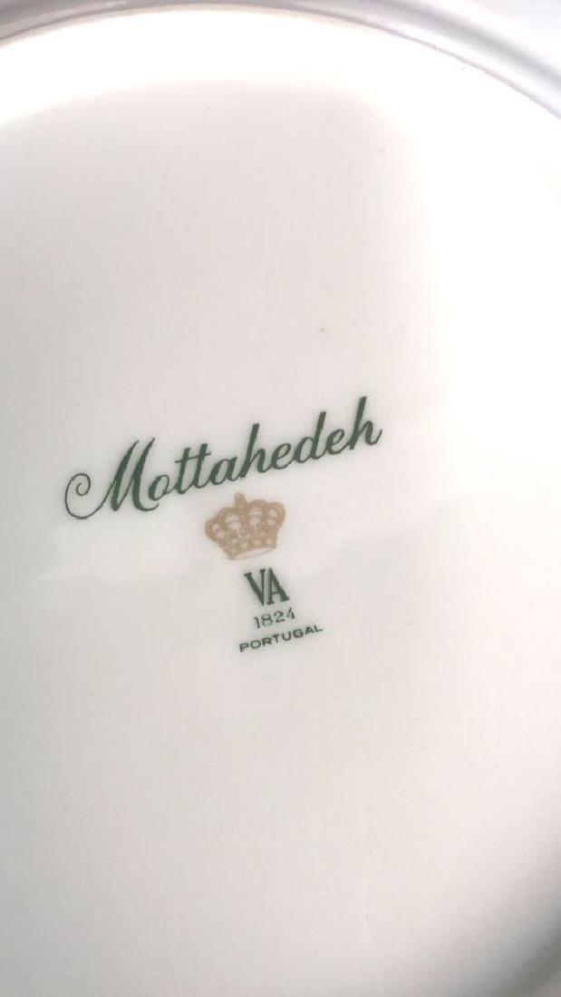 Lot 5 Mottahedeh Ceramic Porcelain Desert Plates - 5