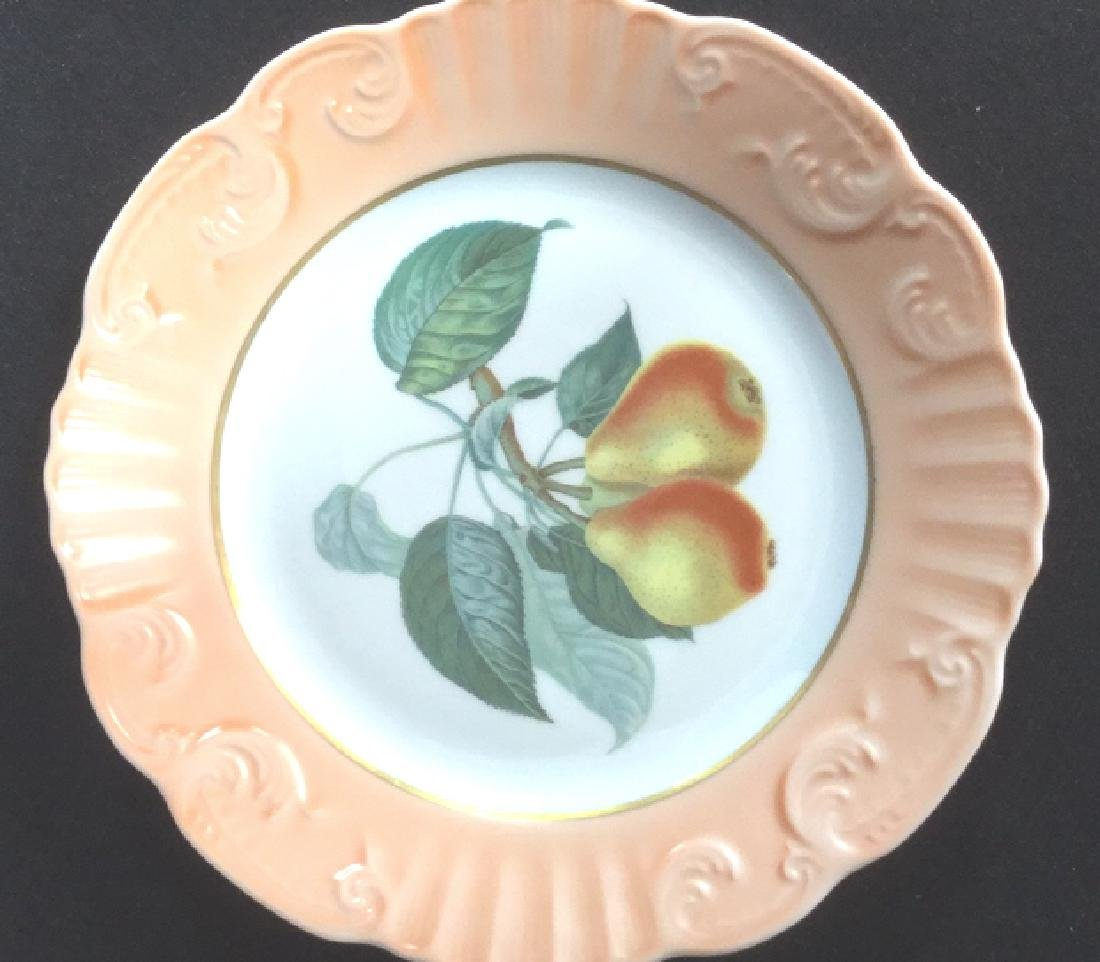 Lot 5 Mottahedeh Ceramic Porcelain Desert Plates - 6