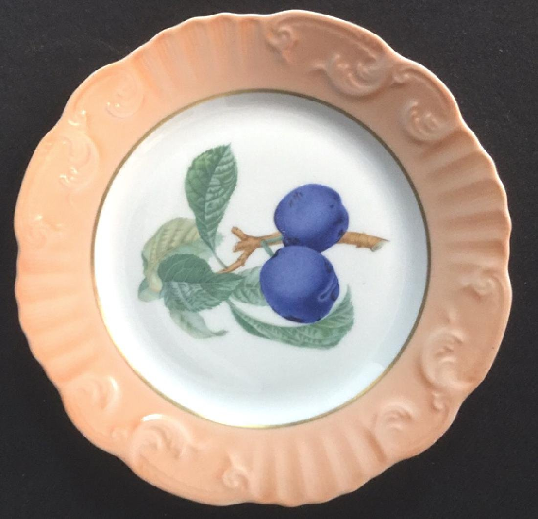 Lot 5 Mottahedeh Ceramic Porcelain Desert Plates - 8