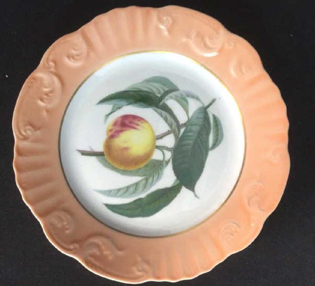 Lot 5 Mottahedeh Ceramic Porcelain Desert Plates - 9