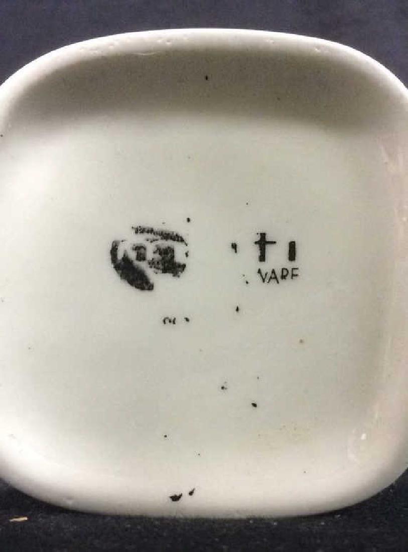 Lot 6 White Toned Geometric Coffee Mugs - 4