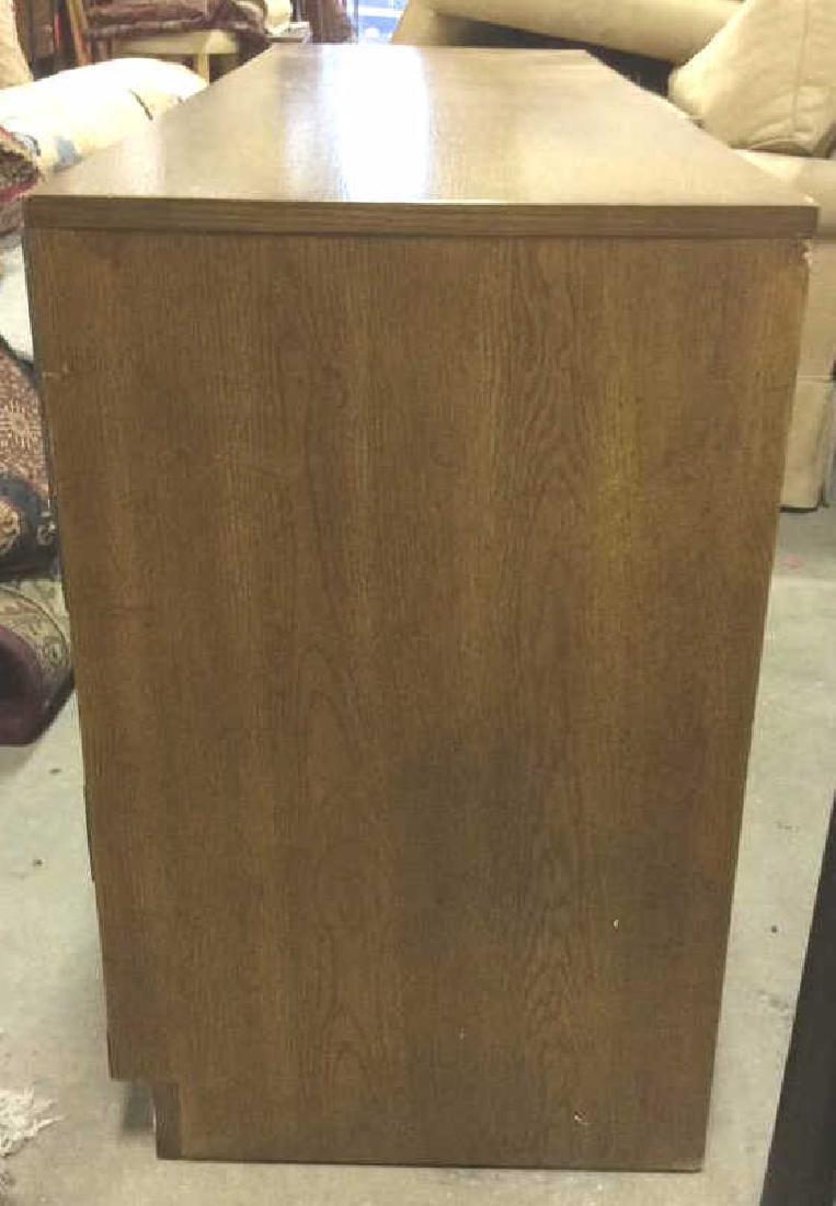 BERNHARDT 7 Drawer Wooden Dresser Campaign Style - 5