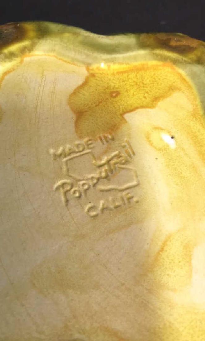 Lot 4 Poppy Trail California Pottery Jars - 10
