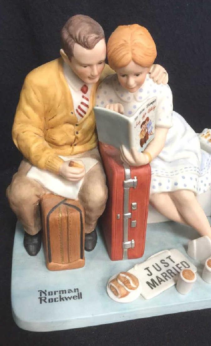 Norman Rockwell Newlyweds Porcelain Figurals - 2