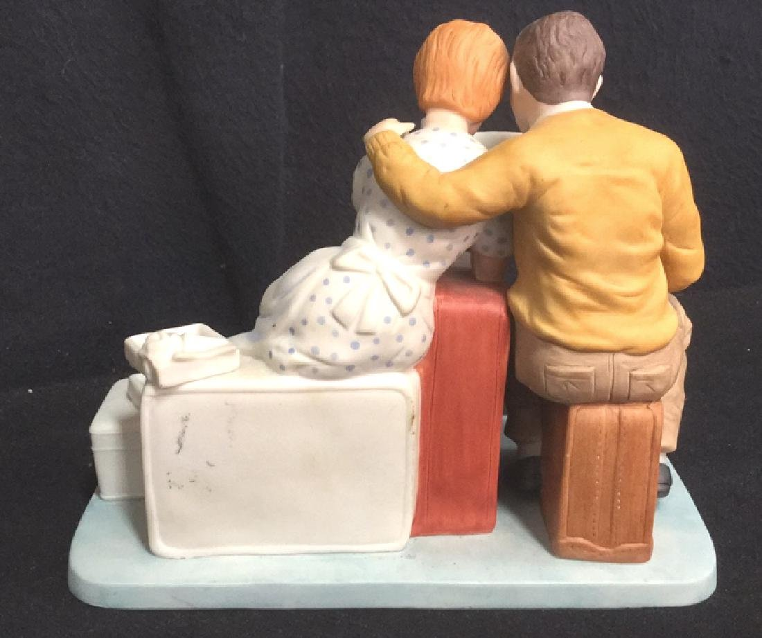 Norman Rockwell Newlyweds Porcelain Figurals - 4