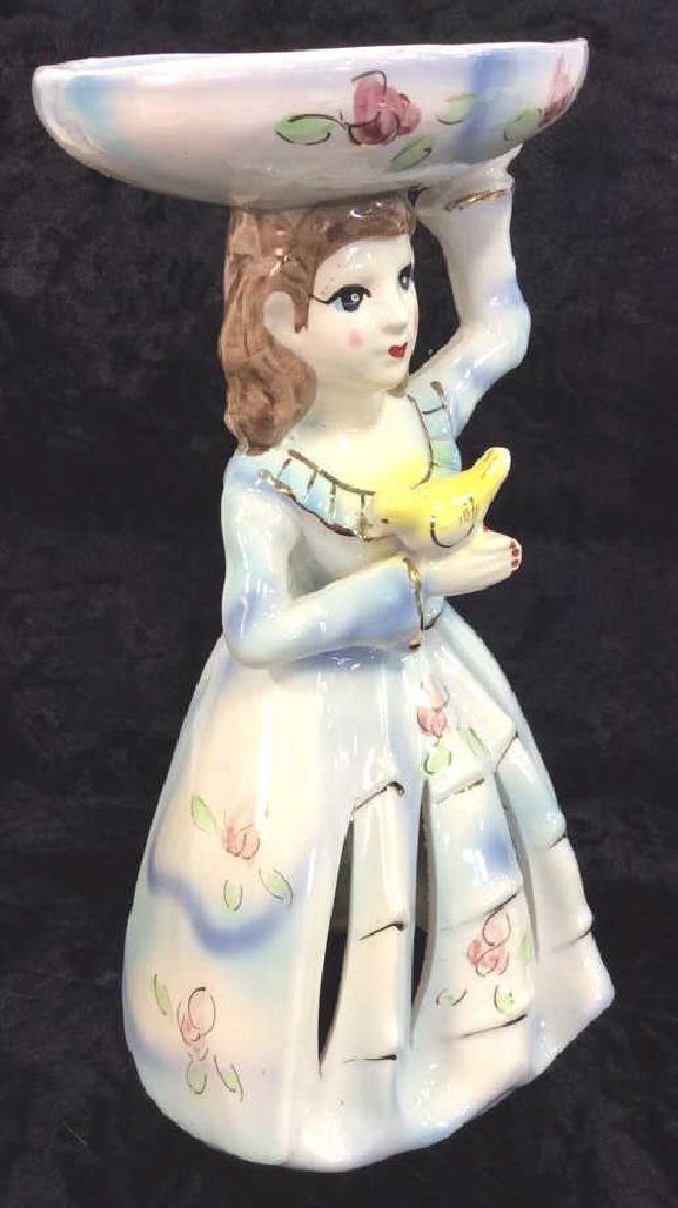Vintage Napkin Lady - 2