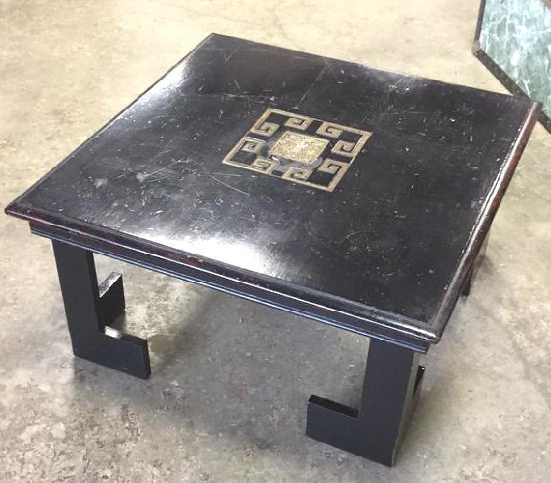 Vintage Asian Inlaid Table Possibly James Wright