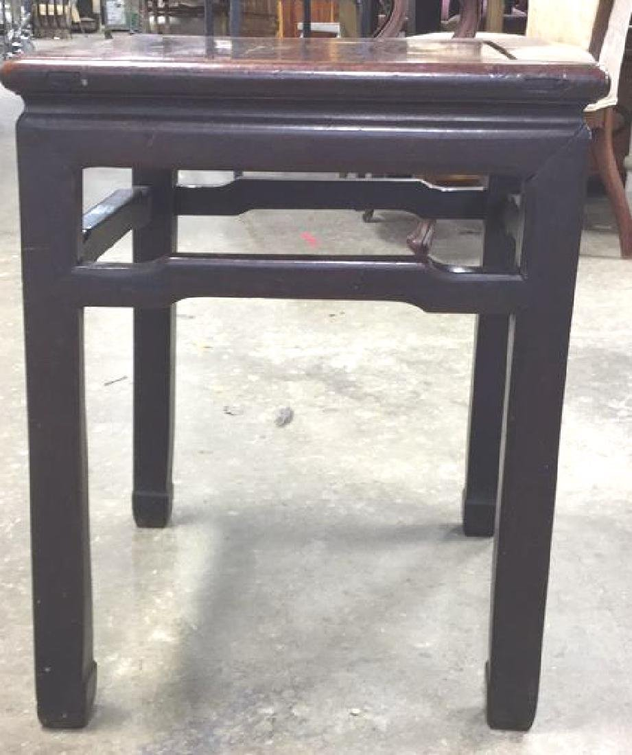 Vintage Asian Side Table - 3