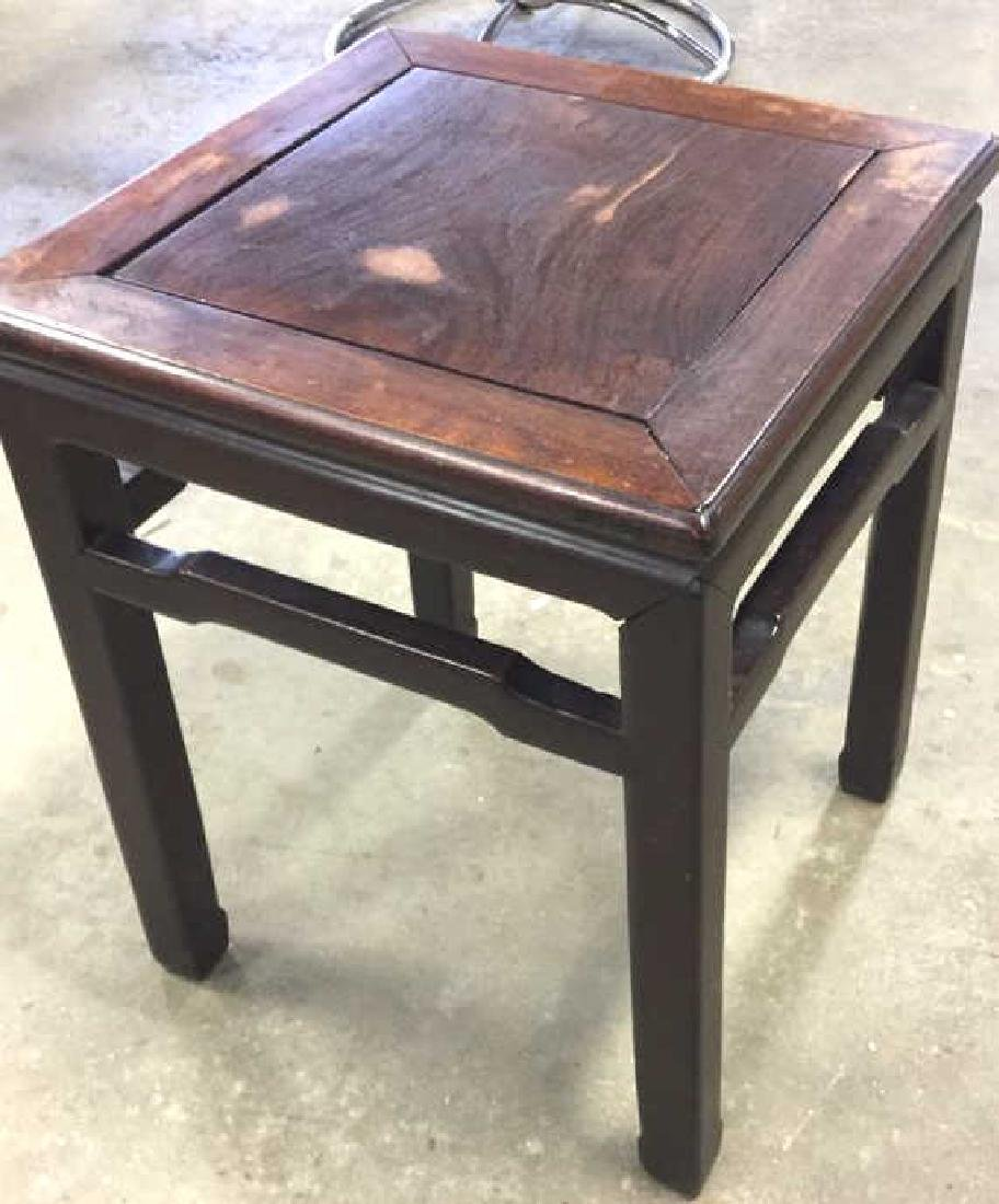 Vintage Asian Side Table - 5