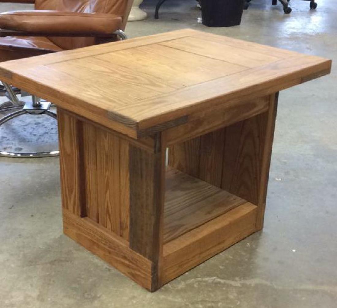 Pine Wood SideTable - 3