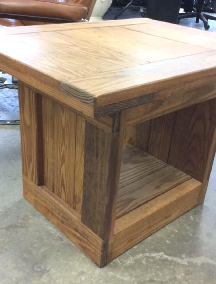Pine Wood SideTable - 4