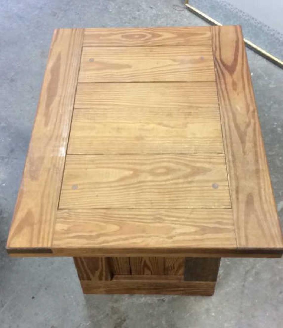 Pine Wood SideTable - 5