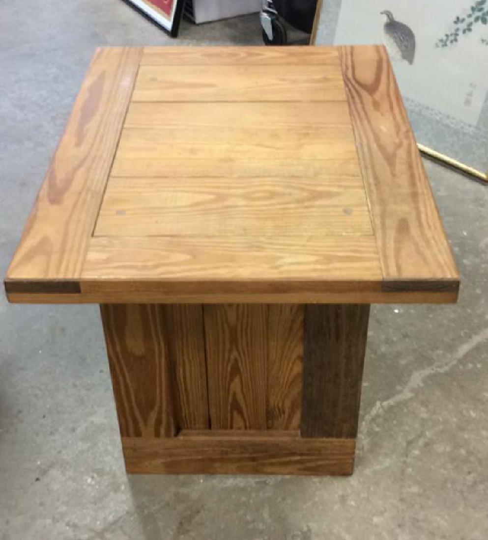 Pine Wood SideTable - 6