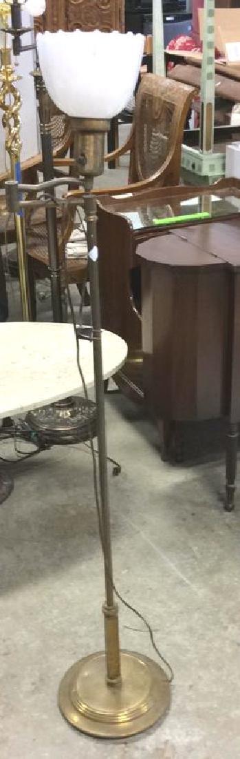 Vintage Swing Arm Floor Lamp