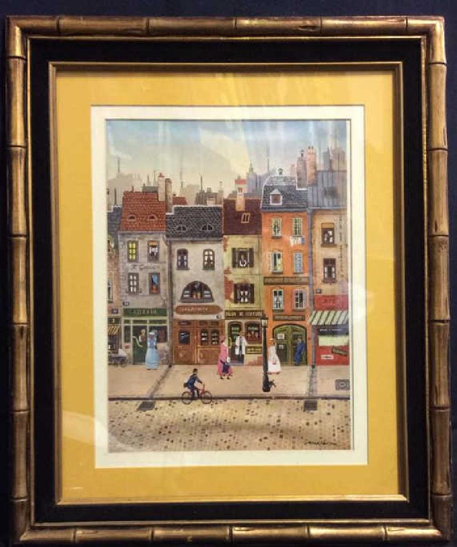 GERARD NESSOIR Framed & Matted Print