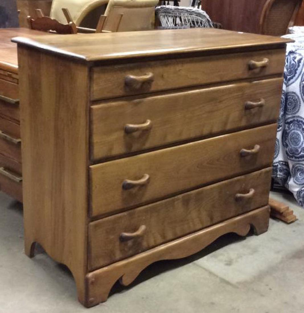 Vermont Made Wood Chest of Drawers - 3