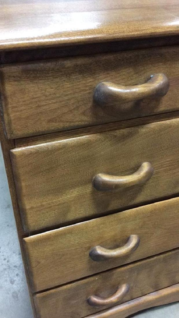 Vermont Made Wood Chest of Drawers - 4