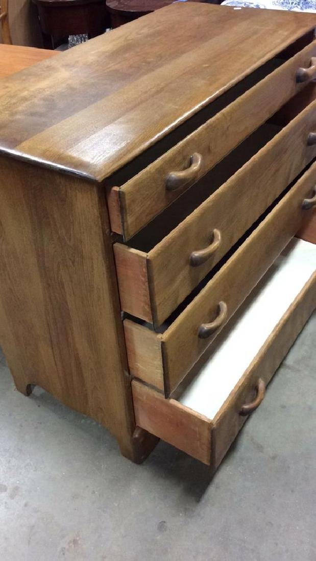 Vermont Made Wood Chest of Drawers - 6
