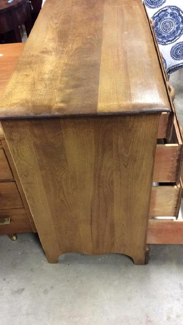 Vermont Made Wood Chest of Drawers - 7