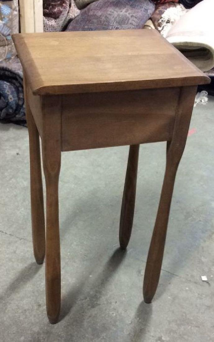 Vermont Made Wood Side Table - 8