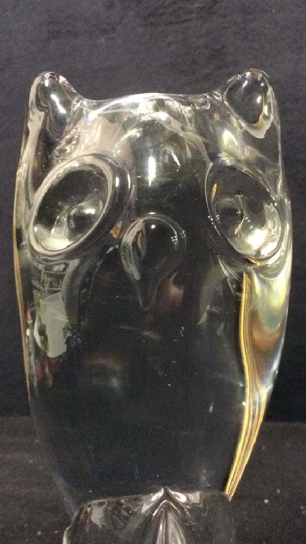 Art Glass Owl - 5