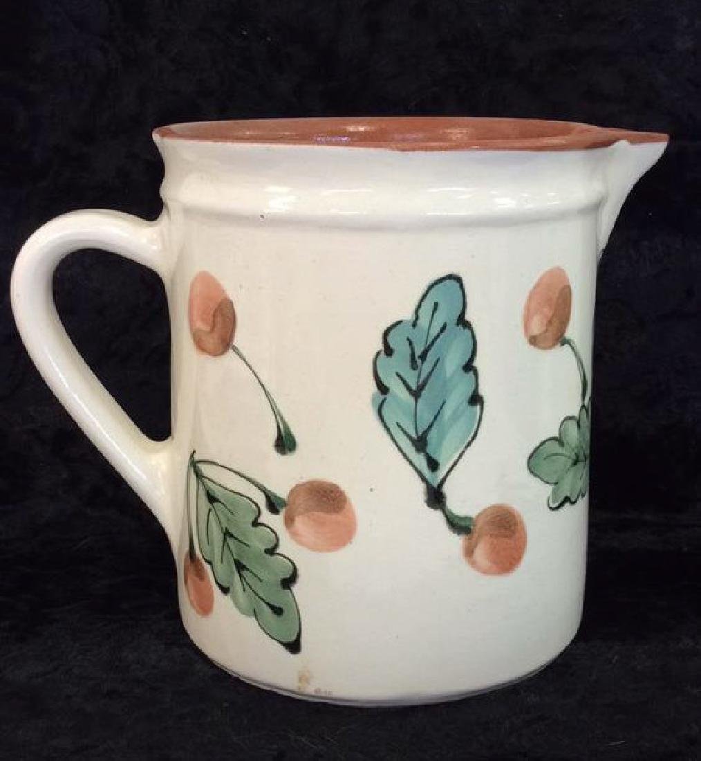 Hand Painted Hungarian Ceramic Pitcher