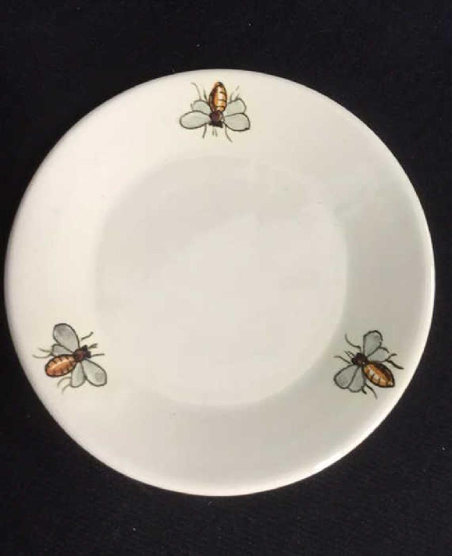 Italian Ceramic Honey Jar With Spoon - 5