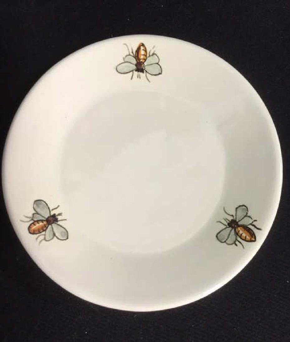Italian Ceramic Honey Jar With Spoon - 6