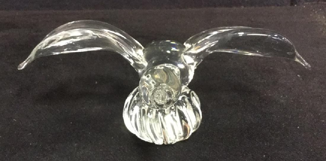 Lot 3 Swan And Duck Glass Metal Figurals - 3