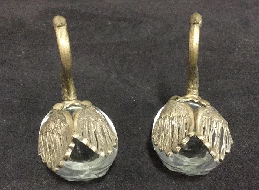 Lot 3 Swan And Duck Glass Metal Figurals - 6