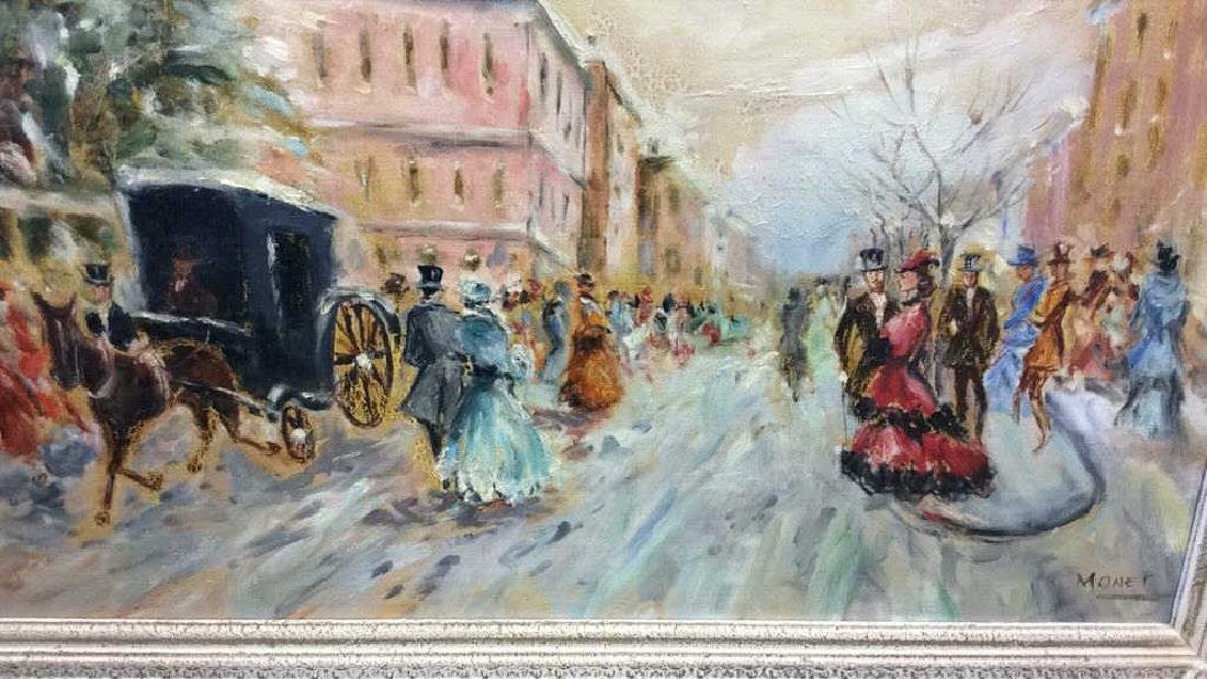 Impressionist French Style Painting on Canvas - 10