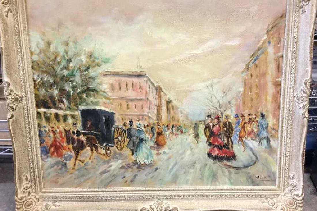 Impressionist French Style Painting on Canvas - 3