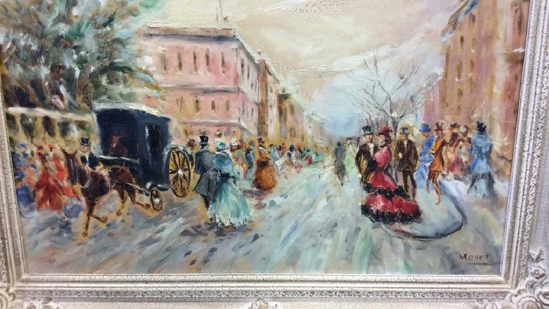 Impressionist French Style Painting on Canvas - 4