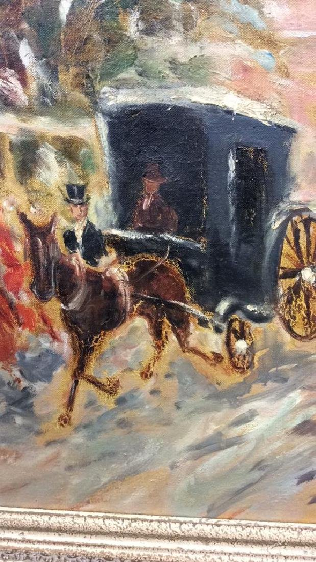Impressionist French Style Painting on Canvas - 5