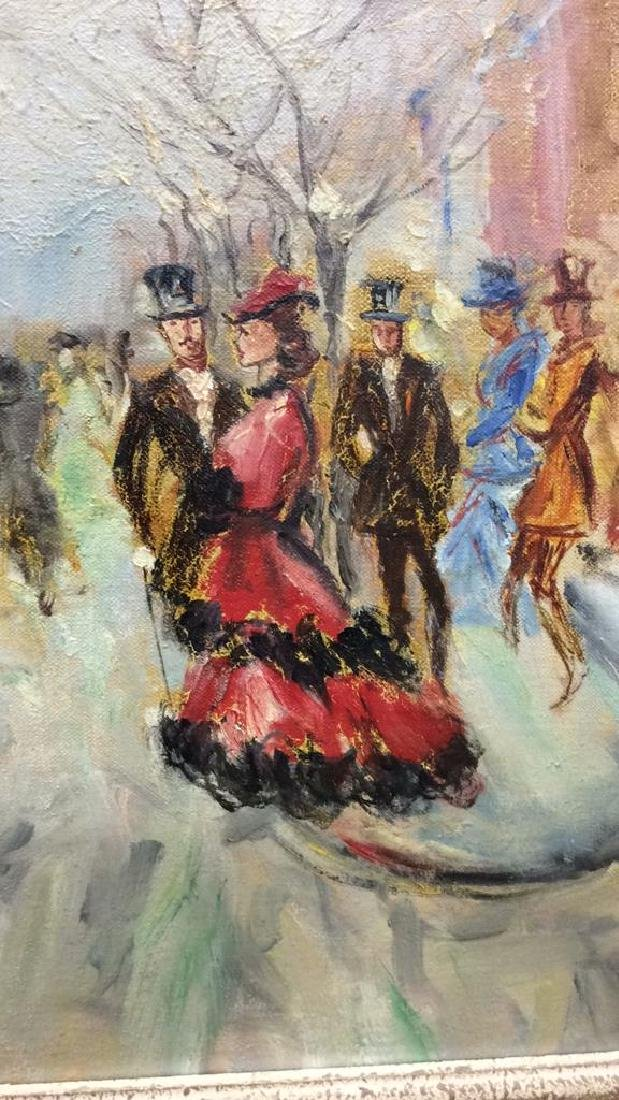 Impressionist French Style Painting on Canvas - 6