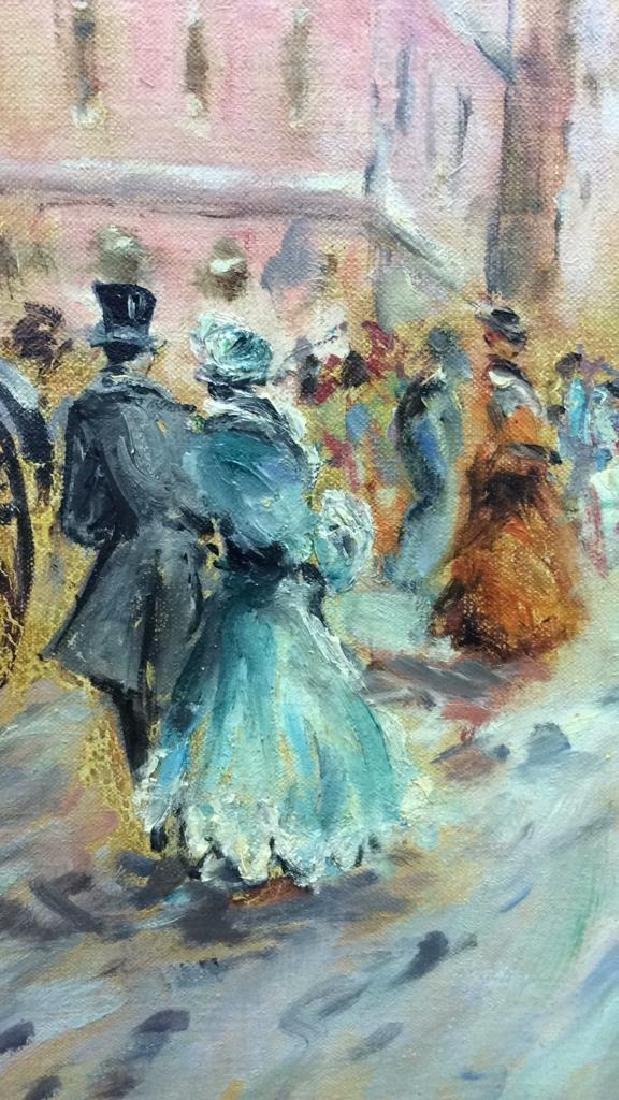 Impressionist French Style Painting on Canvas - 7
