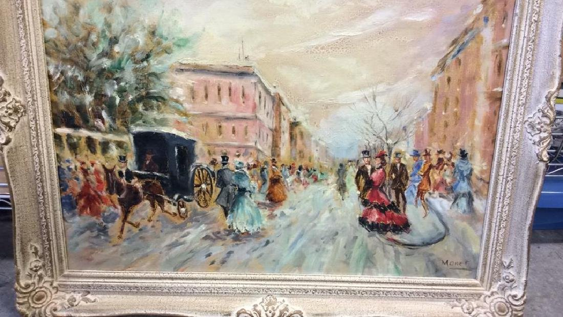 Impressionist French Style Painting on Canvas - 9