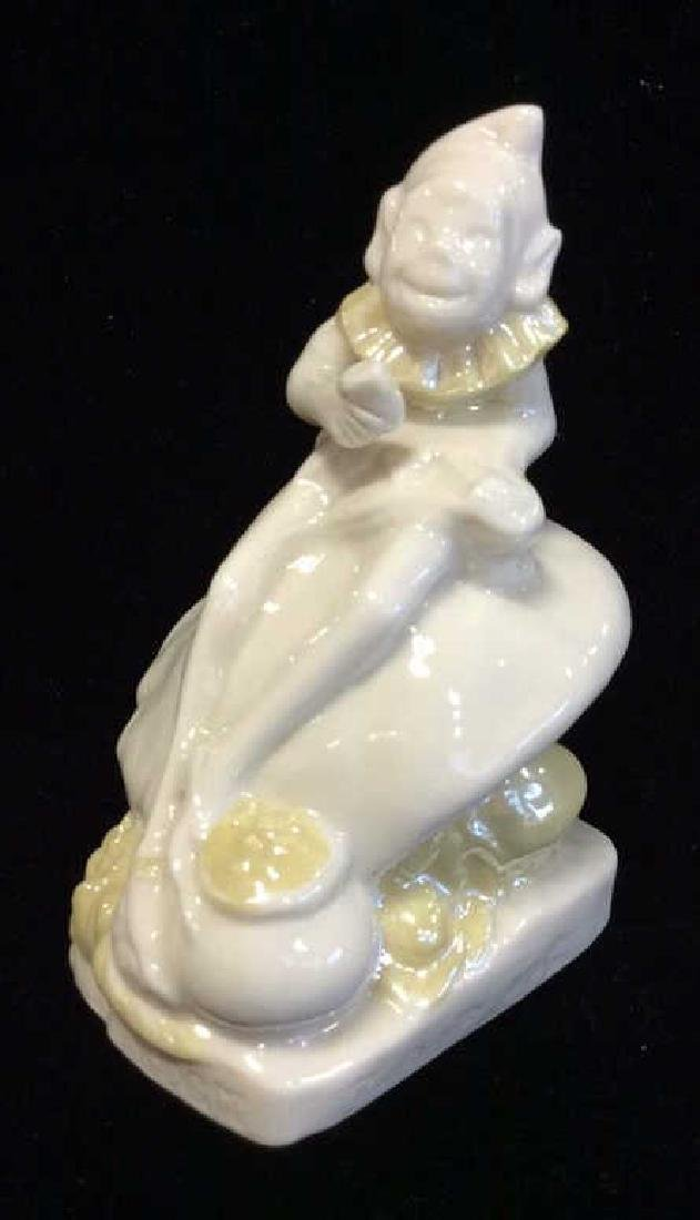 BELLEEK Porcelain Irish Leprechaun Figural