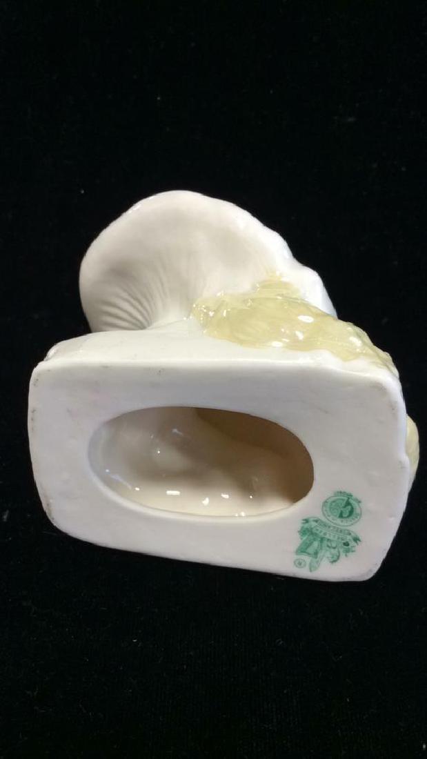 BELLEEK Porcelain Irish Leprechaun Figural - 8