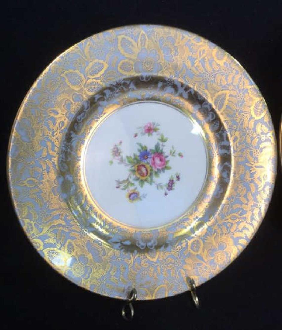 Lot 6 Mixed Bone China Porcelain Dishes And Cups - 2